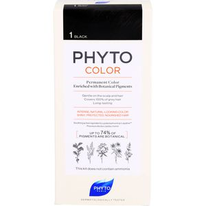 PHYTOCOLOR 1 schwarz ohne Ammoniak