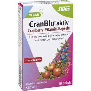 CRANBLU aktiv Cranberry-Vitamin-Kapseln Salus
