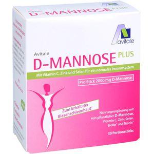 D-MANNOSE PLUS 2000 mg Sticks m.Vit.u.Mineralstof.