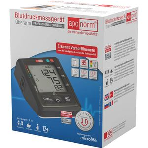 APONORM Blutdruckmessgerät Prof.Control Oberarm