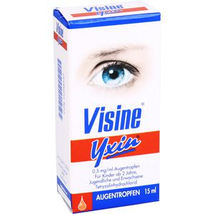 VISINE Yxin 0,5 mg/ml Augentropfen