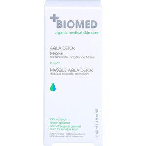 BIOMED Aqua Detox entgiftende Gesichtsmaske