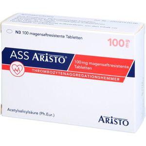 ASS Aristo 100 mg magensaftresistente Tabletten