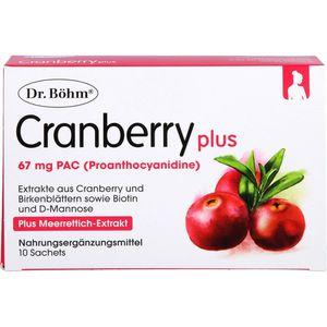 DR.BÖHM Cranberry plus Granulat
