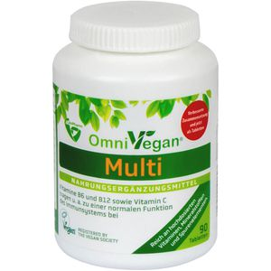 OMNIVEGAN Multi zertifiziert vegan Tabletten