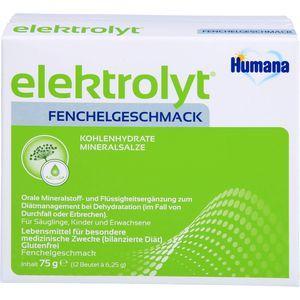 HUMANA Elektrolyt Fenchel Pulver Faltschachtel