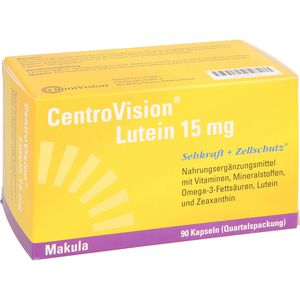CENTROVISION Lutein 15 mg Kapseln