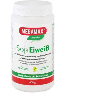 MEGAMAX Soja Eiweiß neutral Pulver