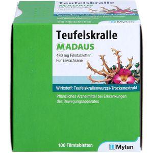 TEUFELSKRALLE MADAUS Filmtabletten