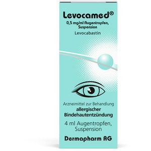 LEVOCAMED 0,5 mg/ml Augentropfen Suspension