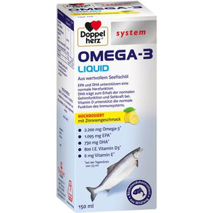 DOPPELHERZ Omega-3 Liquid system