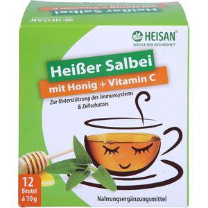 HEISAN heißer Salbei+Honig+Vitamin C Pulver