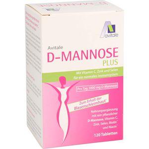 D-MANNOSE PLUS 2000 mg Tabl.m.Vit.u.Mineralstof.