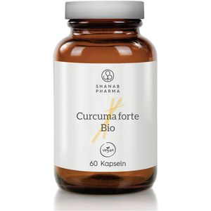 CURCUMA FORTE Bio+Bioperine vegan Kapseln