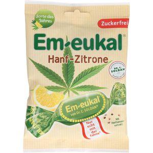 EM EUKAL Bonbons Hanf-Zitrone zuckerfrei