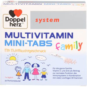 DOPPELHERZ Multivitamin Mini-Tabs family system