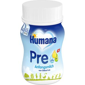 HUMANA Anfangsmilch PRE Uploaded flü.HDPE-Flasche