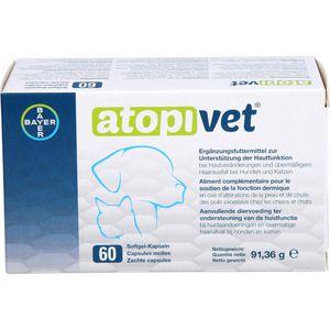 ATOPIVET Softgel-Kapseln für Hunde und Katzen