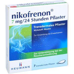 NIKOFRENON 7 mg/24 Stunden Pflaster transdermal