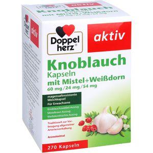 DOPPELHERZ Knobl.Kap.m.Mistel+Weißdorn 60/24/54 mg