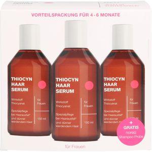 THIOCYN Haarserum Frauen 3x150 ml Vorteilspackung