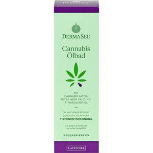 DERMASEL Cannabis Ölbad Lavendel limited edition