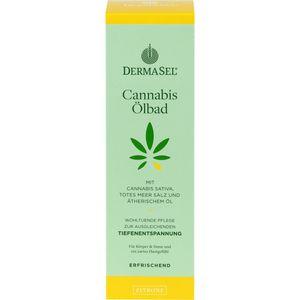 DERMASEL Cannabis Ölbad Zitrone limited edition
