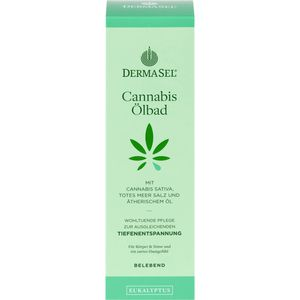 DERMASEL Cannabis Ölbad Eukalyptus limited edition