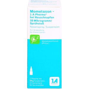 MOMETASON 1A Phar.b.Heuschnupfen 50μg/Spr.Stoß 60