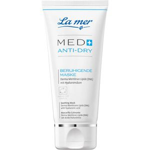 LA MER MED+ Anti-Dry beruhigende Maske ohne Parfum