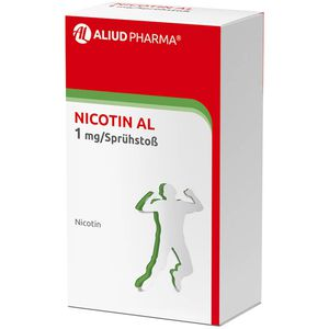 NICOTIN AL 1 mg/Sprühstoß Spray z.Anw.i.d.Mundhö.