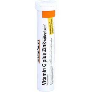 VITAMIN C PLUS Zink-ratiopharm Brausetabletten