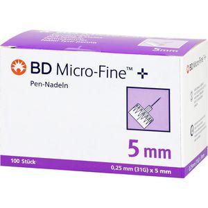 BD MICRO-FINE+ Pen-Nadeln 0,25x5 mm 31 G