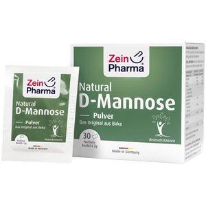 NATURAL D-Mannose 2000 mg Pulver Beutel
