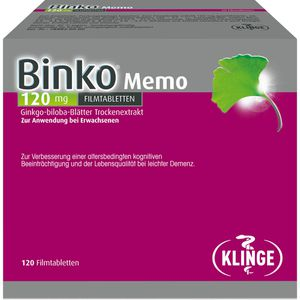 BINKO Memo 120 mg Filmtabletten
