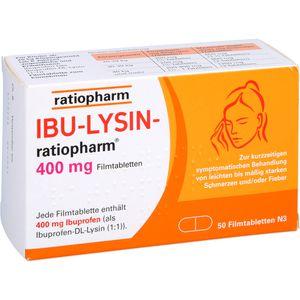 IBU LYSIN-ratiopharm 400 mg Filmtabletten