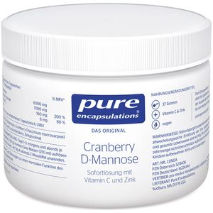 PURE ENCAPSULATIONS Cranberry D-Mannose Pulver