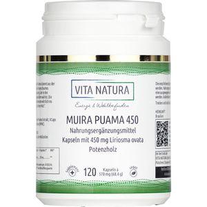 MUIRA PUAMA 450 mg Vegi-Kapseln