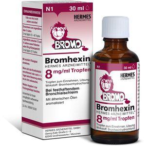 BROMHEXIN Hermes Arzneimittel 8 mg/ml Tropfen