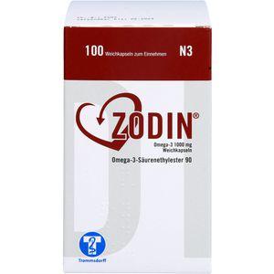 ZODIN Omega-3 1000 mg Weichkapseln