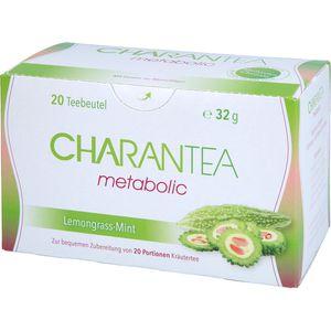 CHARANTEA Teebeutel metabolic Lemon/Mint
