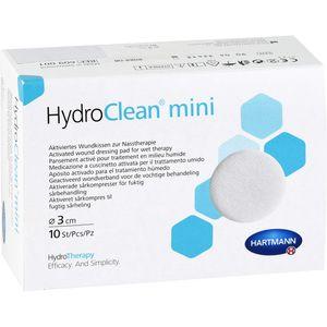 HYDROCLEAN mini Kompressen 3 cm rund steril