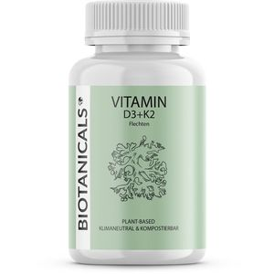 BIOTANICALS Vitamin D3+K2 Kapseln