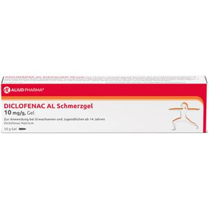 DICLOFENAC AL Schmerzgel 10 mg/g