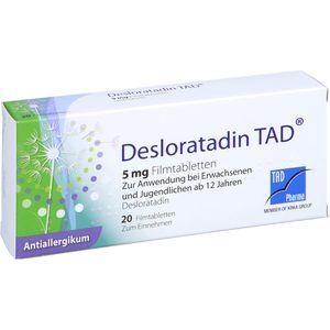 DESLORATADIN TAD 5 mg Filmtabletten