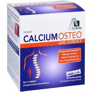 CALCIUM OSTEO 600 Direkt Pulver