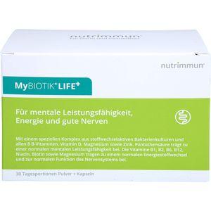 MYBIOTIK LIFE+ Kombipackung 30x1,5 g Plv.+60 Kaps.