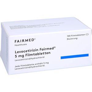 LEVOCETIRIZIN Fairmed 5 mg Filmtabletten