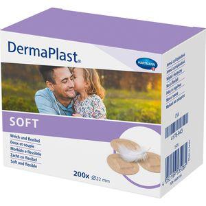 DERMAPLAST SOFT Spots Pflaster rund 22 mm