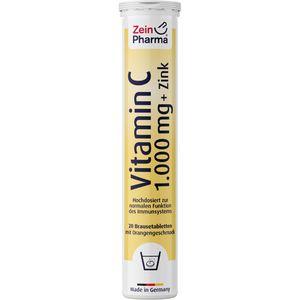 VITAMIN C 1000 mg+Zink Brausetabletten